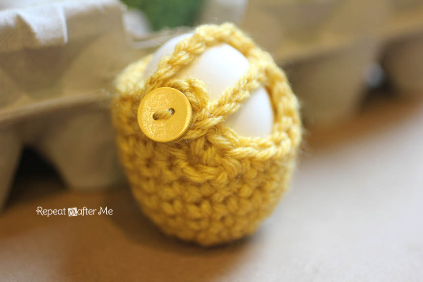 Crochet Egg Cozy Pattern Repeat Crafter Me