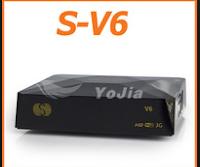Atualizacao do receptor Skybox V6 e V8