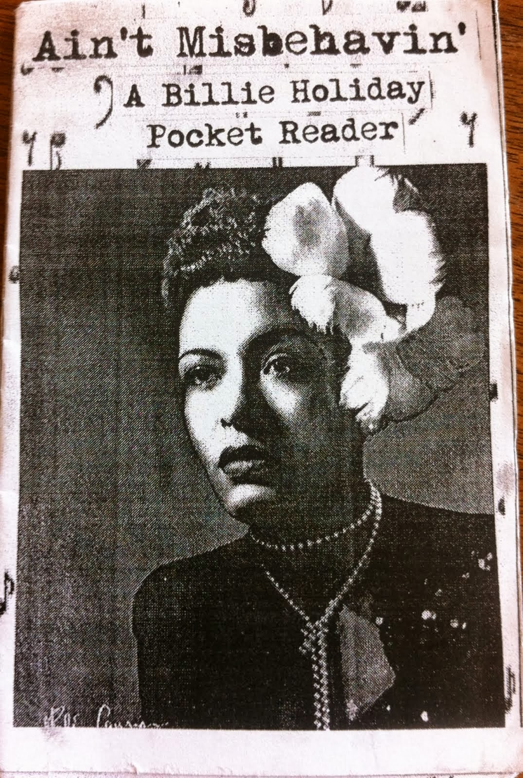 A Billie Holliday Pocket Reader