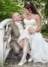 Meg og min kjære. Vi giftet oss 14.07.2012