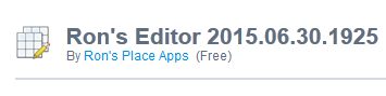 Ron's Editor 2015.06.30.1925 Free Download