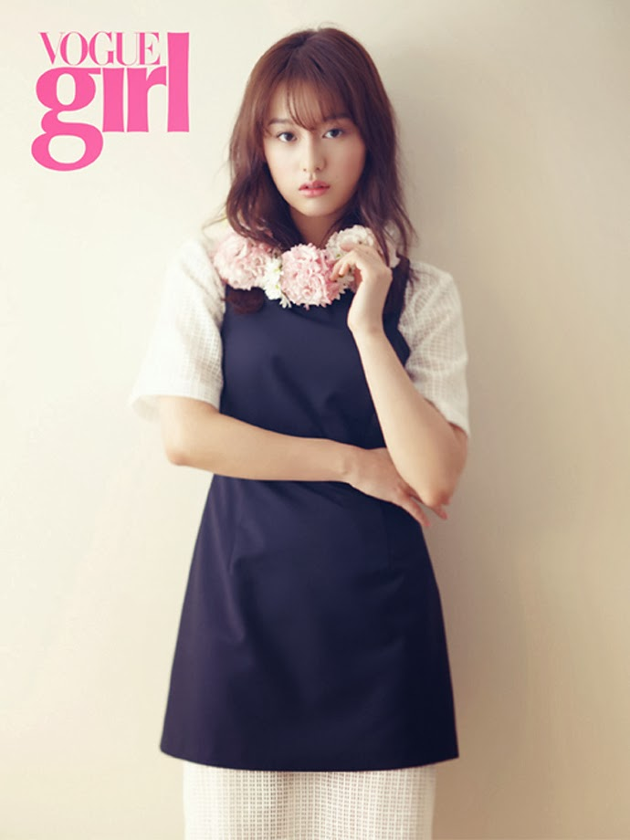 Kim Ji Won - Vogue Girl March 2014