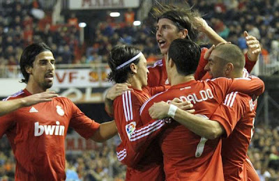 Valencia CF 2 - 3 Real Madrid (1)