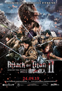 Attack on Titan Part 2: End of the World (2015) Subtitle Indonesia