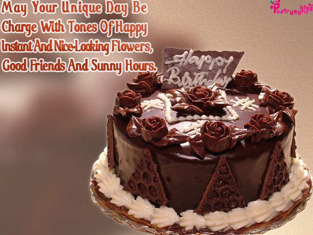 Zaat Se Zaat Taak Happy Birthday Cake Images With Birthday Quotes