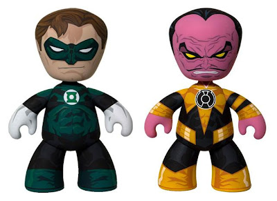 San Diego Comic-Con 2011 Exclusive Comic Book Edition Green Lantern & Sinestro Mez-Itz Vinyl Figures by Mezco Toyz