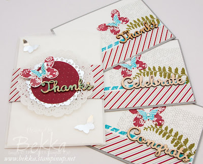 Pretty Bag of Cards - A Lovely Gift Idea - get the details here