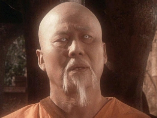 Keye Luke as Master Po in Kung Fu