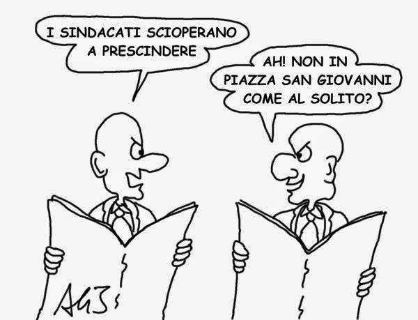 Renzi, Sindacati