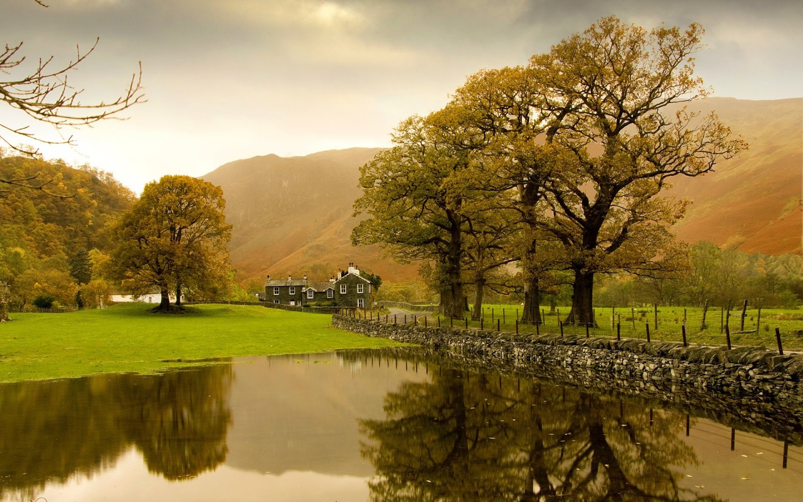 England Autumn Scenery  Full HD Desktop Wallpapers 1080p