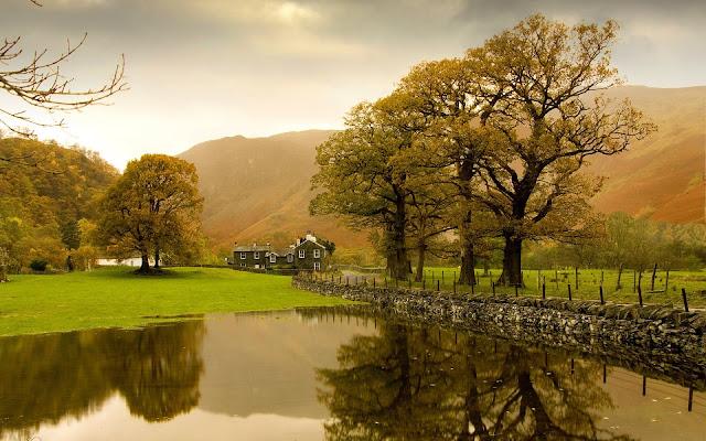 England Autumn Scenery