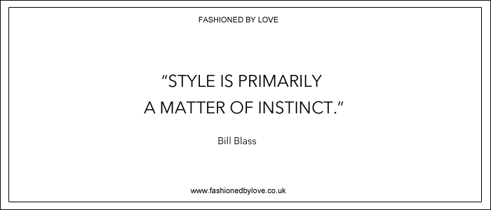 via fashioned by love | best fashion & style quotes | Bill Blass