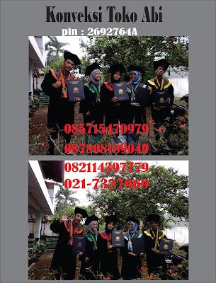 Tempat Pembuatan Toga Wisuda di Jakarta Pusat: Menteng, Pegangsaan, Cikini, Kebon Sirih, Gondangdia