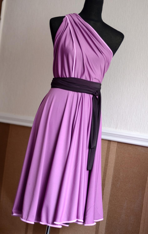 Как сшить платье без выкройки быстро 58