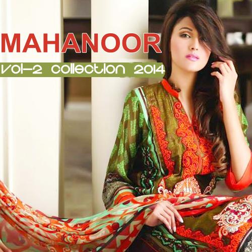 Mahnoor Vol-2 Lawn 2014