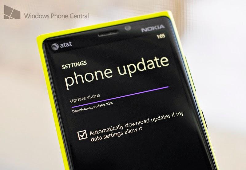 phone update status