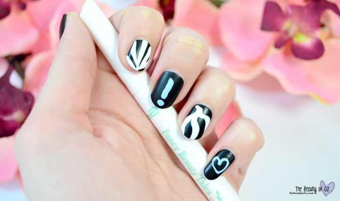 Review p2 Fancy Beauty Tales kitsch up nail art pencil AS YOU ARE & WITHOUT PERMISSION