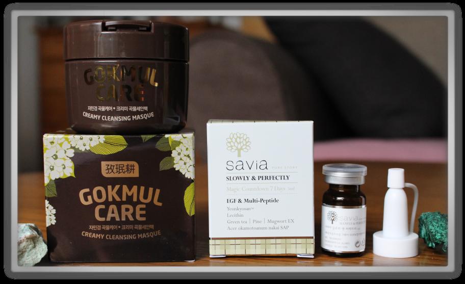 겟잇뷰티박스 by 미미박스 memebox beautybox Global #9 unboxing review preview box Jaminkyung gokmul care creamy cleansin masque savia magic count down 7 days egf multi peptide