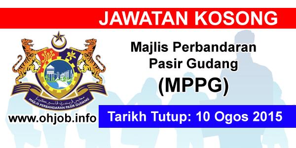 Jawatan Kerja Kosong Majlis Perbandaran Pasir Gudang (MPPG) logo www.ohjob.info ogos 2015