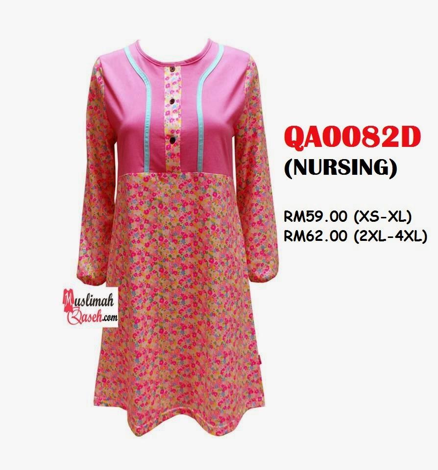 T-Shirt-Muslimah-Qaseh-QA0082D