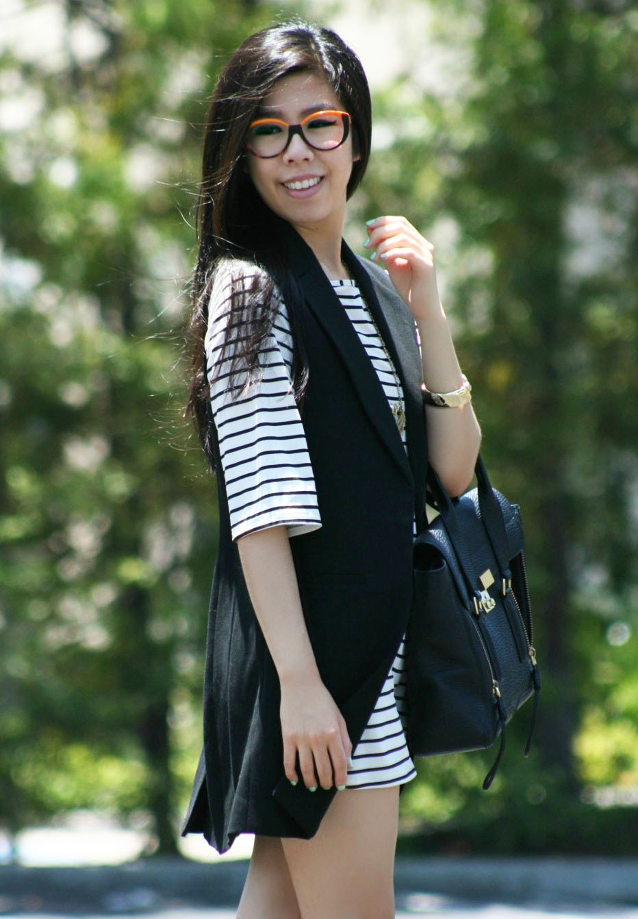 what to wear with breton stripes