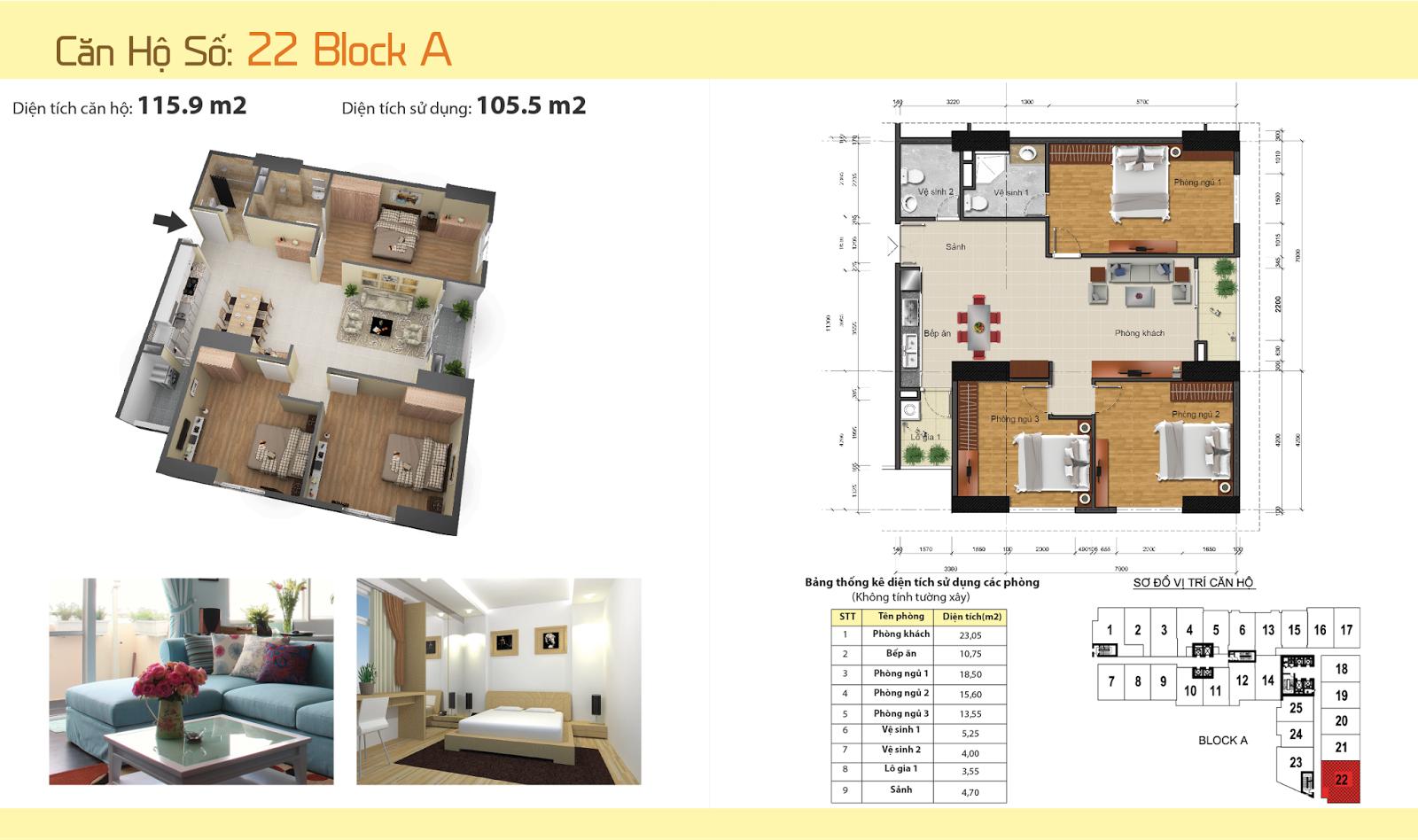 Thiết kế nội thất chung cư Gemek Tower 27