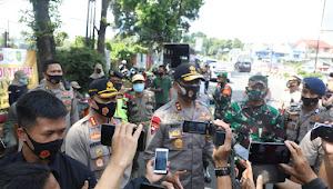 Kapolda Jabar Tinjau Kegiatan Operasi Yustisi Gakplin Protokol Kesehatan Di Kota Bogor