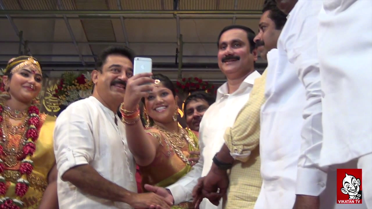 Anbumani Ramadoss Daughter Marriage,Karunanidhi,Stalin,Vaiko