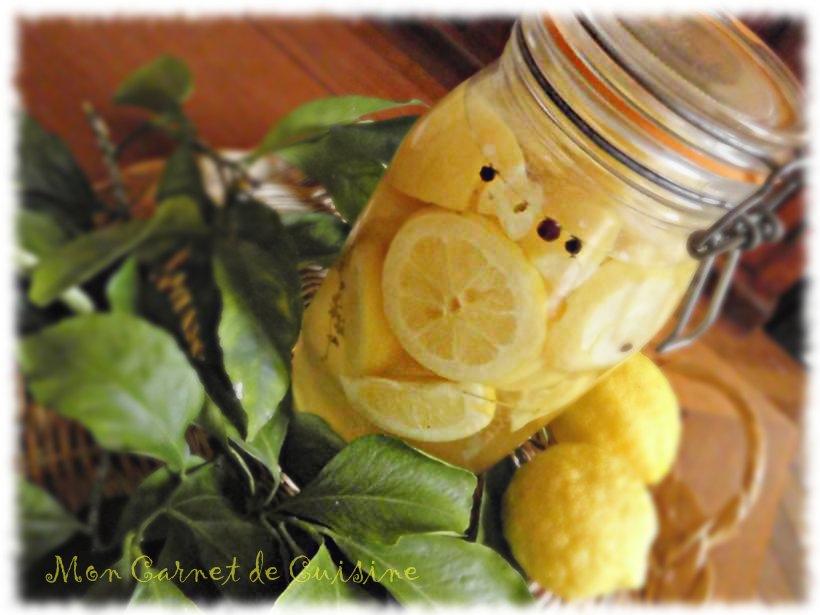 mon carnet de cuisine citrons confits au sel. Black Bedroom Furniture Sets. Home Design Ideas