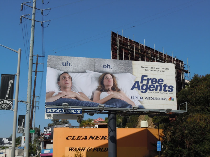 Free Agents billboard