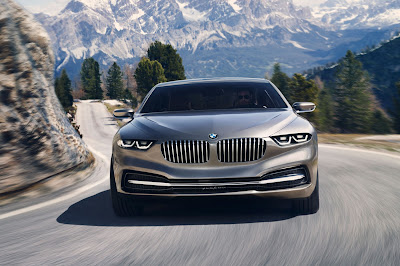 BMW Pininfarina Gran Lusso Coupe Concept front view