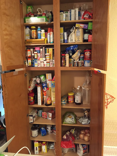military housing kitchen pantry