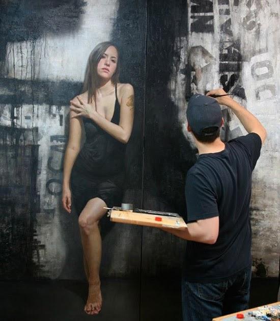 Niezwykle realistyczne portrety - David Jon Kassan   ACH TAK!