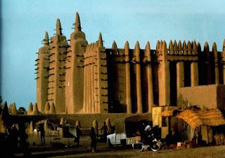 foto masjid agung djenne