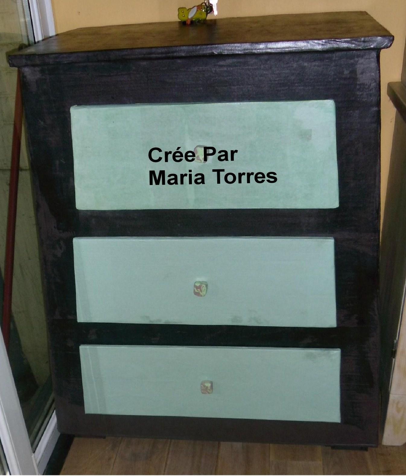 Maria cartonne voici la suite de mon meuble for Meuble japonais bruxelles