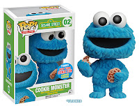 Funko Pop! Flocked Cookie Monster