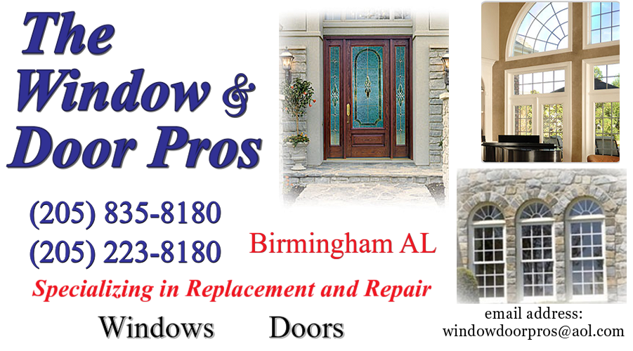 Replacement Windows Birmingham | Window Repair   Window And Door Pros  Birmingham AL