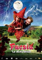 Cartel de la película Fucsia, la Mini Bruja