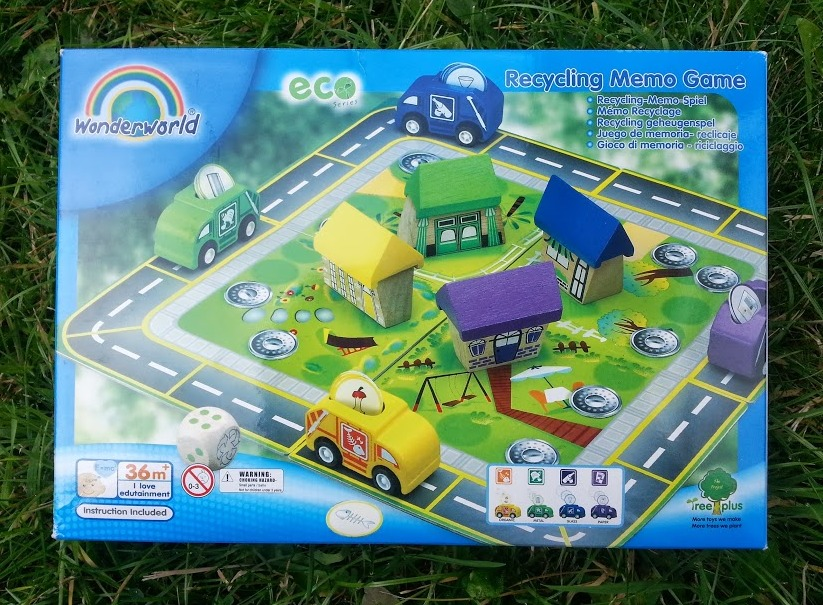 the eco house has recycling bins and the wonderworld recycling game is an excellent way to teach your children about which of the things from your