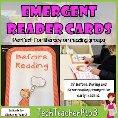 Emergent Reader Cards