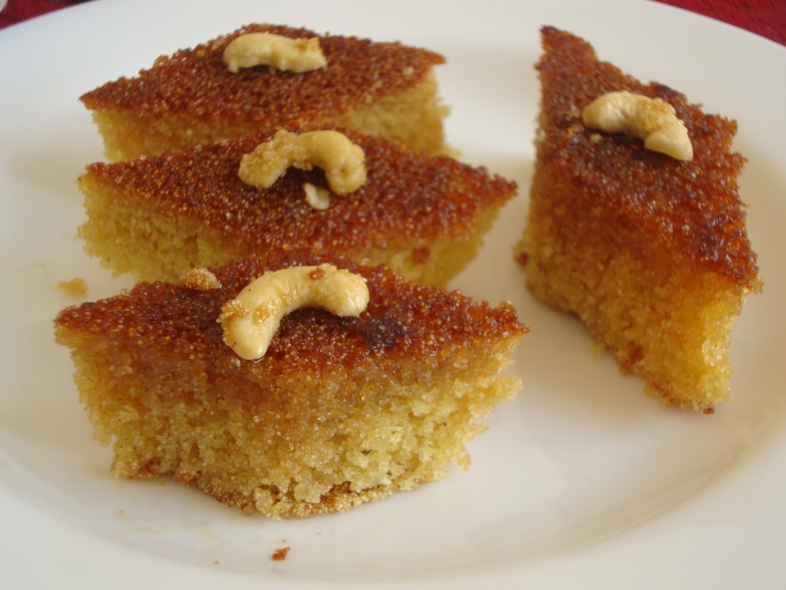 ... cake jewish honey drizzled syrup procedure honey drizzled semolina