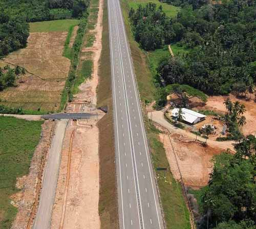 Sri Lanka's Southern Expressway extends; Galle – Matara stretch opens today