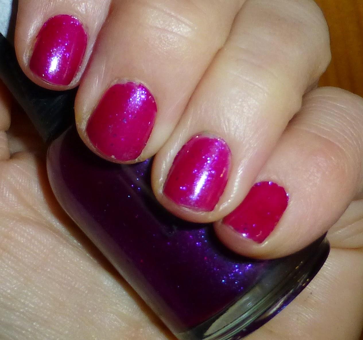 "Orly ""Purple Poodle"" nail polish"