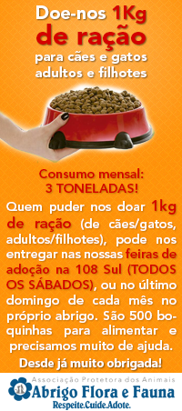 S.O.S RAÇÃO FLORA e FAUNA!