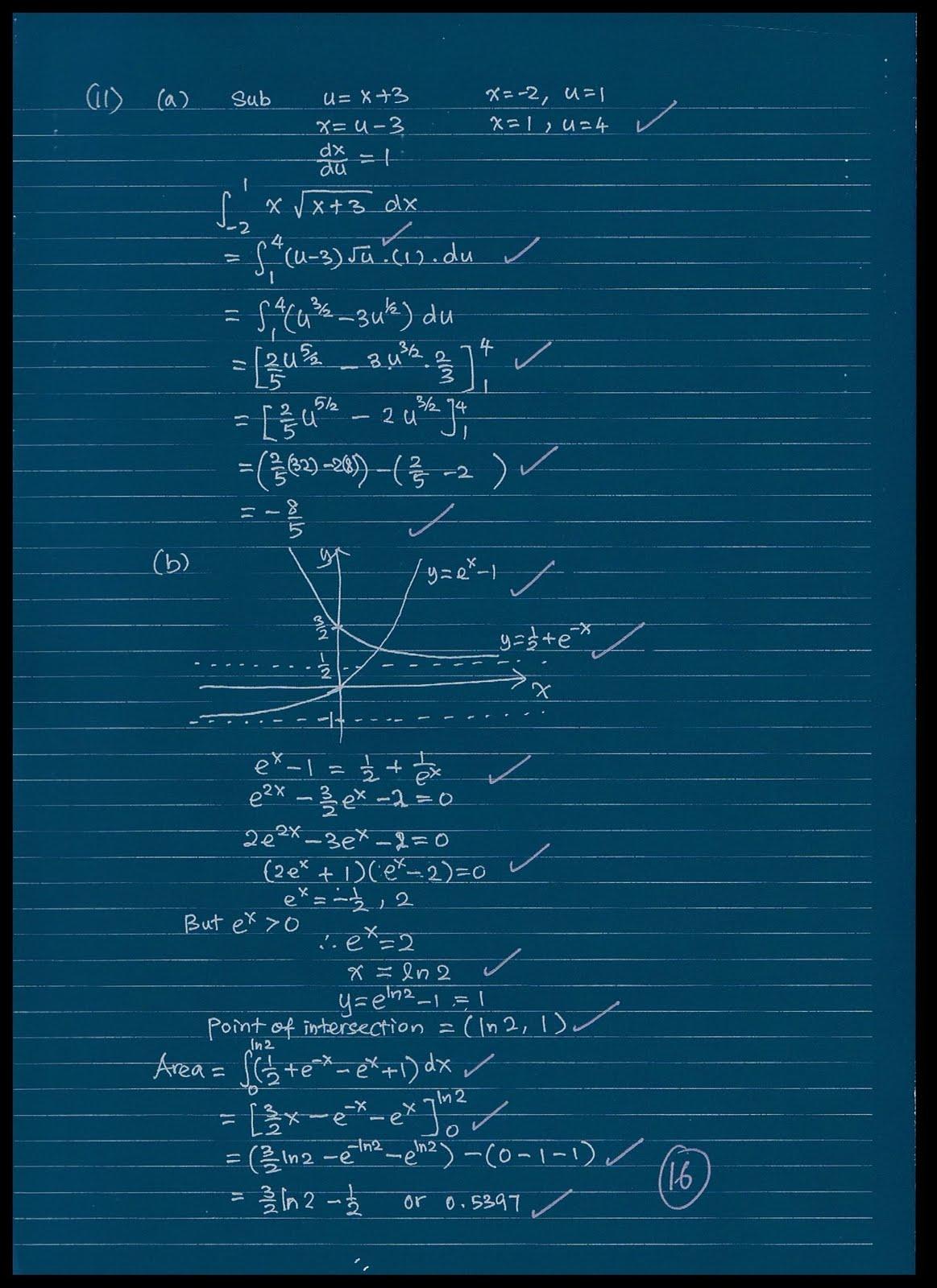 stpm mathematics t coursework