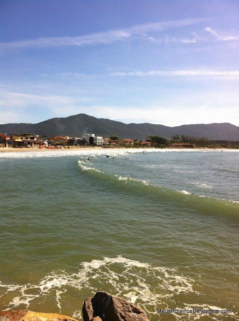 Praia da Barra da Lagoa - Florianópolis