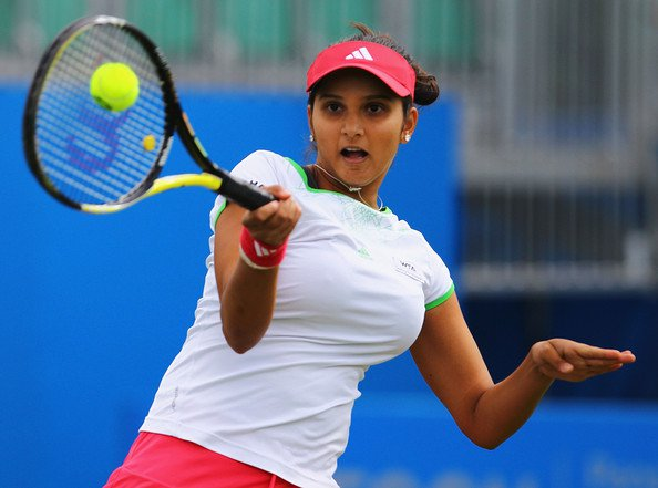 sania mirza aegon open clic - august 2011