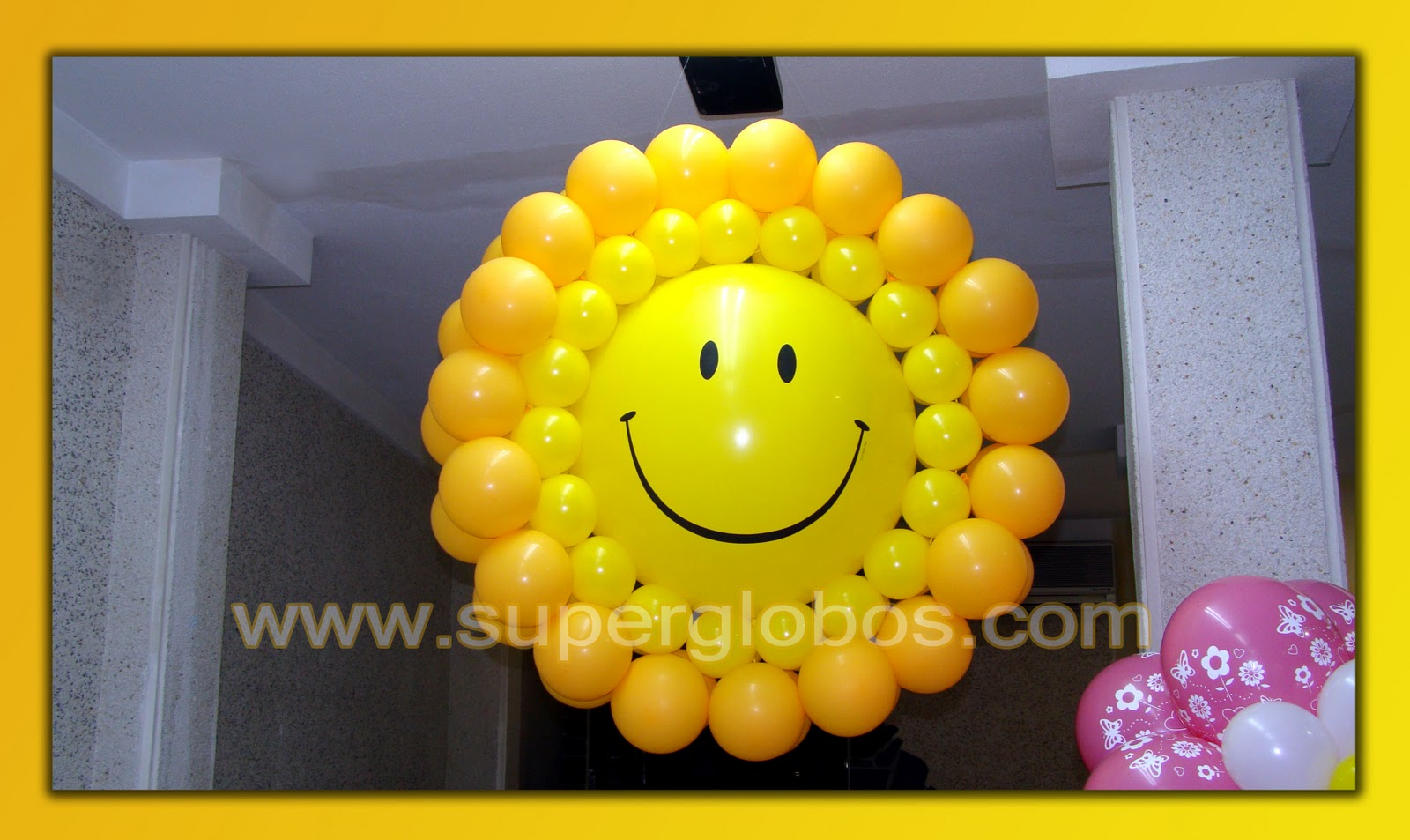 diseos con globos para fiestas infantiles