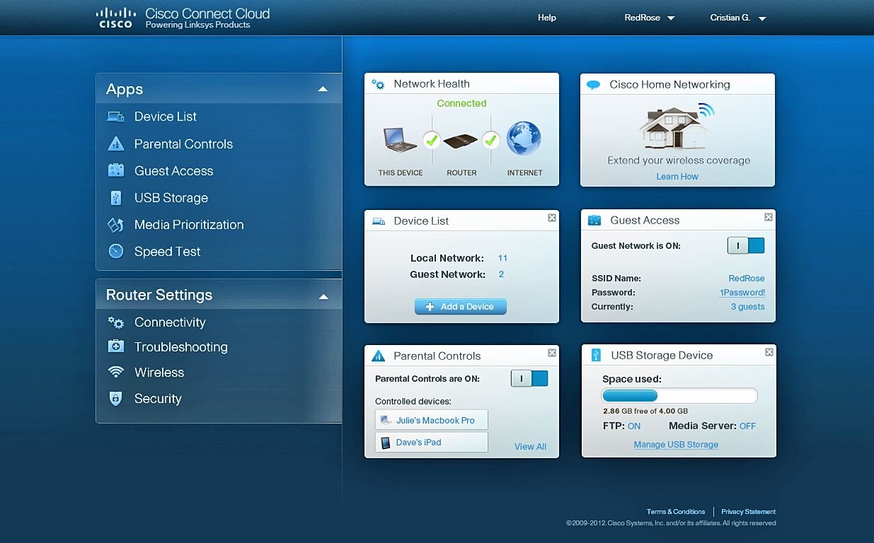 Internet Providers For My Area >> Cisco puts LAN control in the cloud, with apps for new Linksys WiFi routers.