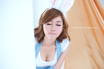 Choi-Byul-I-Denim-Overall-Skirt-01-very cute asian girl-girlcute4u.blogspot.com